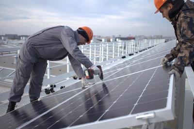 В Челябинской области начался монтаж первой солнечной электростанции